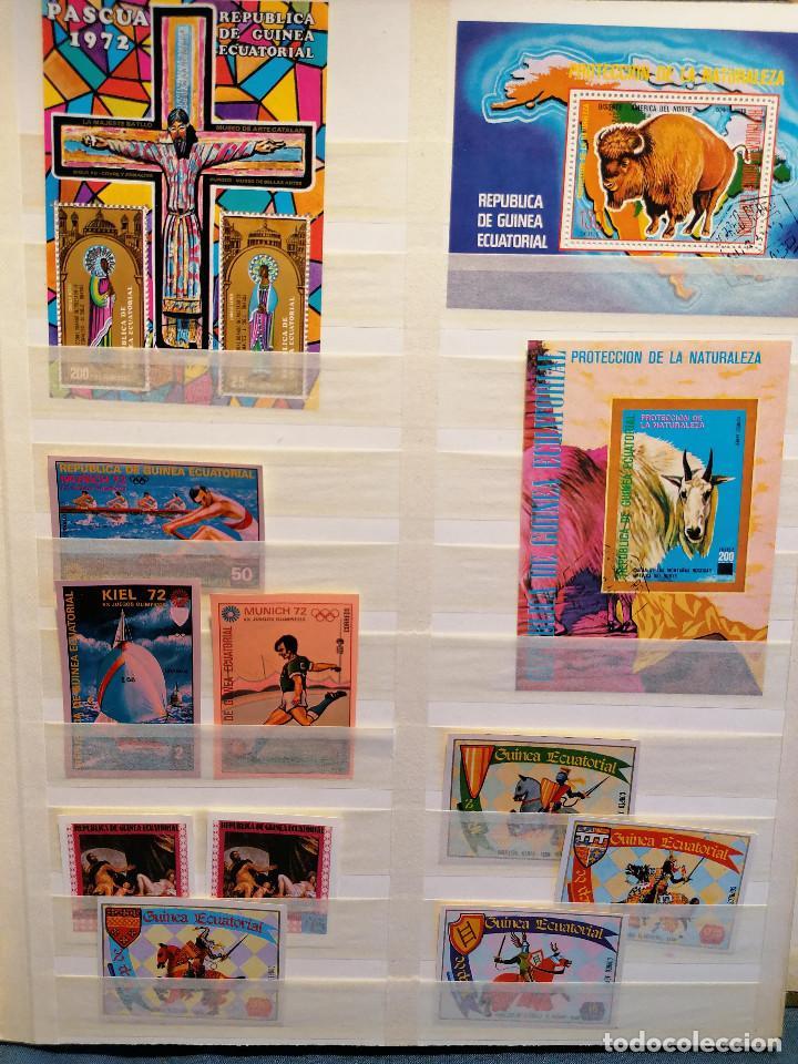 Sellos: GUINEA ECUATORIAL lote sellos Resto Coleccion Gran Coleccion muy completa Clasificador usado/ Nuevo - Foto 5 - 271384923