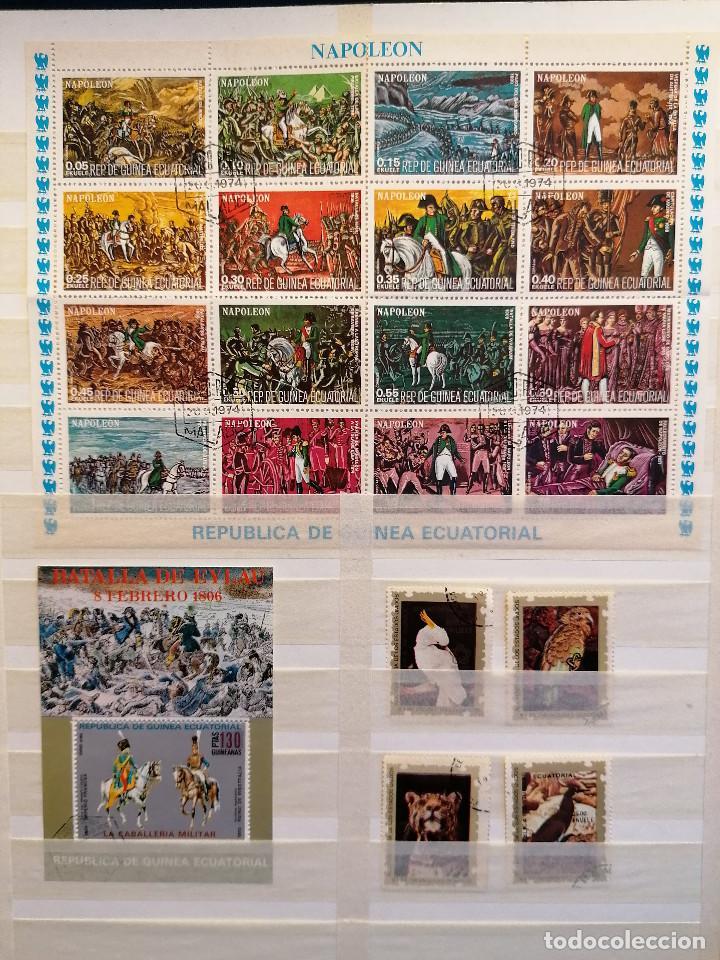 Sellos: GUINEA ECUATORIAL lote sellos Resto Coleccion Gran Coleccion muy completa Clasificador usado/ Nuevo - Foto 6 - 271384923