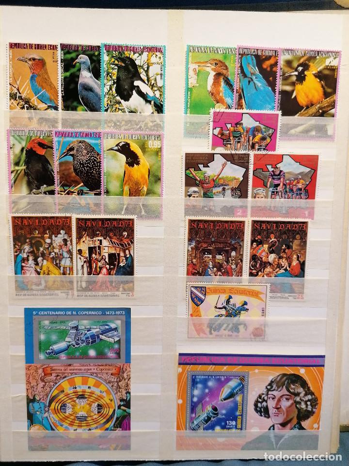 Sellos: GUINEA ECUATORIAL lote sellos Resto Coleccion Gran Coleccion muy completa Clasificador usado/ Nuevo - Foto 7 - 271384923