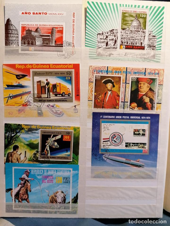 Sellos: GUINEA ECUATORIAL lote sellos Resto Coleccion Gran Coleccion muy completa Clasificador usado/ Nuevo - Foto 8 - 271384923
