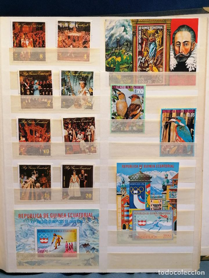 Sellos: GUINEA ECUATORIAL lote sellos Resto Coleccion Gran Coleccion muy completa Clasificador usado/ Nuevo - Foto 13 - 271384923