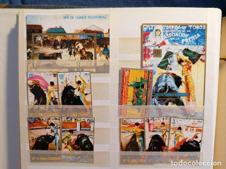 Sellos: GUINEA ECUATORIAL lote sellos Resto Coleccion Gran Coleccion muy completa Clasificador usado/ Nuevo - Foto 14 - 271384923