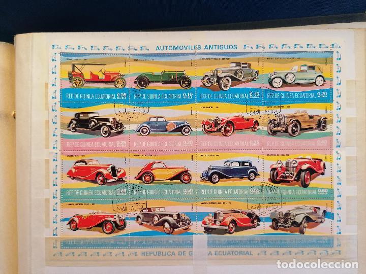 Sellos: GUINEA ECUATORIAL lote sellos Resto Coleccion Gran Coleccion muy completa Clasificador usado/ Nuevo - Foto 15 - 271384923
