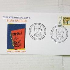 Sellos: NOIA HOMENAXE SUSO FABEIRO 2007 SELLO A. Lote 275165538