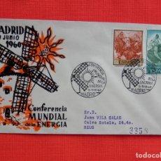 Sellos: SOBRE CONFERENCIA MUNDIAL DE LA ENERGIA, MADRID 5-9 JUNIO 1960. Lote 276128918
