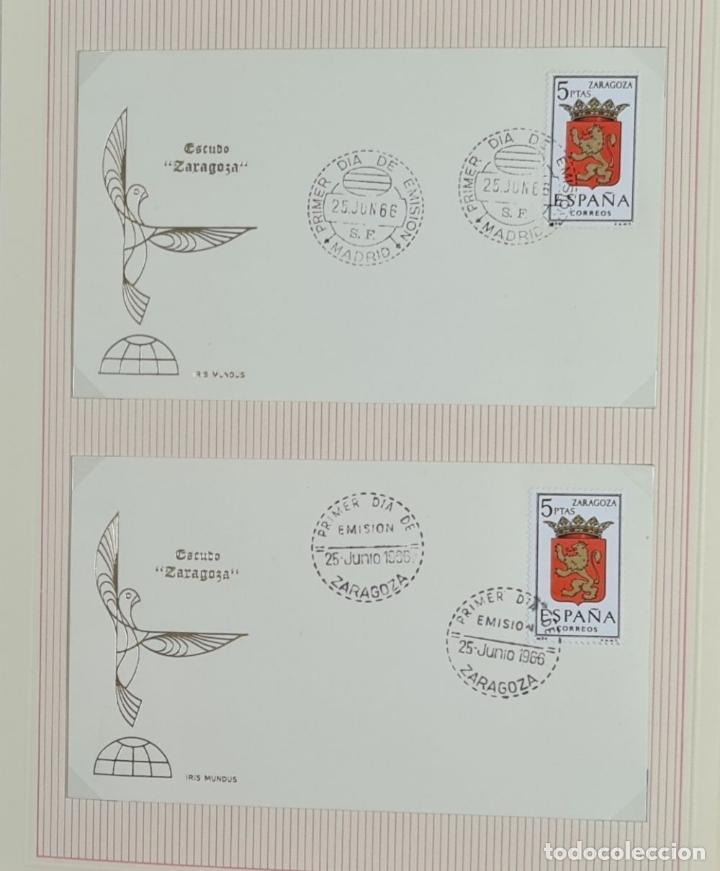 Sellos: CENTENARIO DEL SELLO DENTADO ESPAÑOL. 119 SELLOS. IRIS MUNDI. 1965/1967. - Foto 2 - 276985693