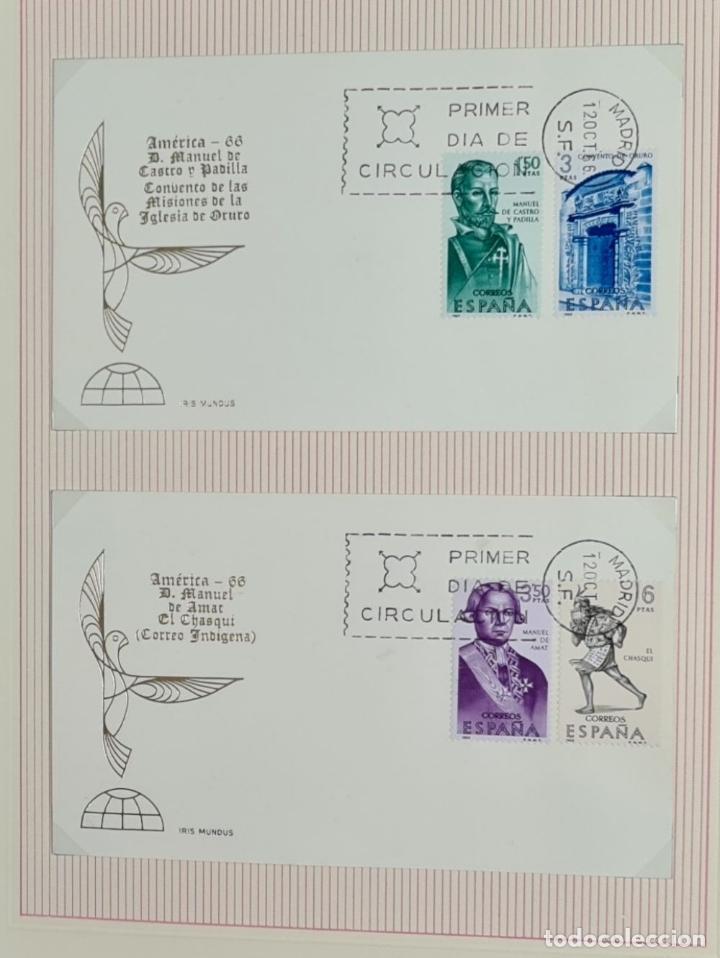 Sellos: CENTENARIO DEL SELLO DENTADO ESPAÑOL. 119 SELLOS. IRIS MUNDI. 1965/1967. - Foto 5 - 276985693