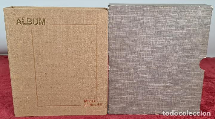 CENTENARIO DEL SELLO DENTADO ESPAÑOL. 119 SELLOS. IRIS MUNDI. 1965/1967. (Sellos - Historia Postal - Sello Español - Sobres Primer Día y Matasellos Especiales)