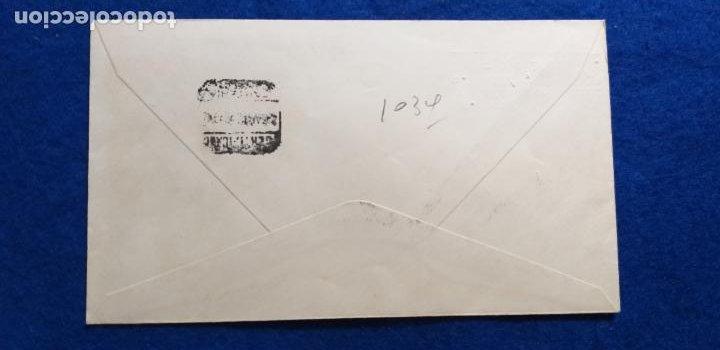 Sellos: SOBRE DEL PRIMER DIA. JORNADAS BIOQUIMICAS LATINAS. Sellos y matasellos. AÑO 1969 - Foto 2 - 278216798