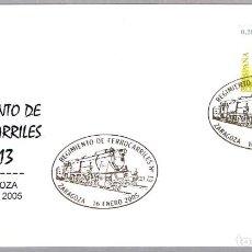 Sellos: MATASELLOS REGIMIENTO DE FERROCARRILES Nº 13. ZARAGOZA, ARAGON, 2005. Lote 278974313