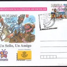 Sellos: SOBRE CORRESPONDENCIA EPISTOLAR CON MATASELLOS EXP. ITINERANTE EL PUERTO DE SANTA MARIA. Lote 279416993