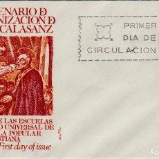 Francobolli: ESPAÑA 1967 SPD: 27.NOV.67 ''CANONIZACIÓN S JOSÉ DE CALASÁNZ''./ ED. 1837 ALFIL. MUY BONITO, FOTO.. Lote 284452283