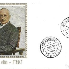 Sellos: MIGUEL PRIMO DE RIVERA CENTENARIO 1970 (EDIFIL 1976) RARO SPD MF MATASELLOS JEREZ DE LA FRONTERA MPM. Lote 285080423