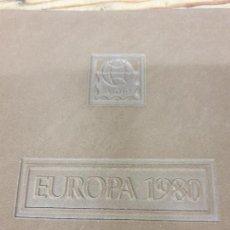 Francobolli: ALBUM DE EUROPA 1980, SOBRES CON SELLO Y MATASELLOS, IMPECABLES.. Lote 287369178