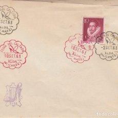 Sellos: EXTREMADAMENTE RARO---- MATASELLOS FERIA DEL CALZADO DE ELDA (ALICANTE) 1963-2 DIAS Y COLORES DISTIN. Lote 288500103