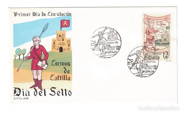 ESPAÑA 1981 EDIFIL 2621 - SOBRES PRIMER DIA A.561 (Sellos - Historia Postal - Sello Español - Sobres Primer Día y Matasellos Especiales)