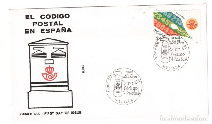 ESPAÑA 1987 EDIFIL 2906 - SOBRE PRIMER DIA (Sellos - Historia Postal - Sello Español - Sobres Primer Día y Matasellos Especiales)