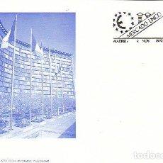 Sellos: EDIFIL 3226, MERCADO UNICO EUROPEO, PRIMER DIA DE 4-11-1992 FLASH. Lote 288689898