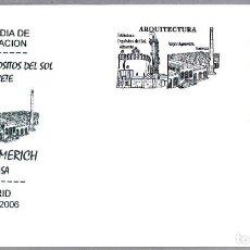 Sellos: MATASELLOS PRIMER DIA - BIBLIOTECA DEPOSITOS DEL SOL - ALBACETE. MADRID 2006. Lote 288865523