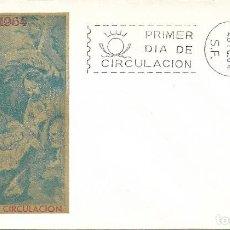 Sellos: NAVIDAD 1964 PINTURA DE ZURBARAN (EDIFIL 1630) EN SPD SIN CIRCULAR DEL SERVICIO FILATELICO. MPM.. Lote 288926763