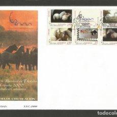 Sellos: ESPAÑA SOBRE PRIMER DIA DE CIRCULACION EDIFIL NUM. 3684A/3679A CABALLOS CARTUJANOS. Lote 289330468