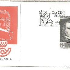 Sellos: ESPAÑA SPAIN FDC DIA DEL SELLO STAMP DAY JUAN DE TASSIS CORREO. Lote 289538638