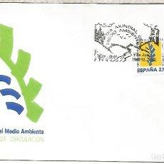 Sellos: ESPAÑA SPAIN FDC DIA MUNDIAL DEL MEDIO AMBIENTE. Lote 289538783