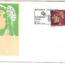 Sellos: ESPAÑA SPAIN FDC MARGARITA XIRGU TEATRO ARTE. Lote 289538968