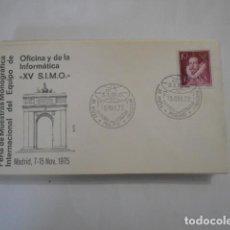 Sellos: ALFIL-XV S.I.M.O. -MADRID 1975. Lote 292339868