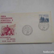 Sellos: ALFIL-FERIA EXPOSICION AGRICOLA E INDUSTRIAL -VILLAGARCIA DE AROSA 1975. Lote 292364308