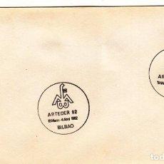 Sellos: SOBRE: 1982 BILBAO. ARTEDER 82. Lote 293945328