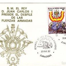 Sellos: SOBRE: 1982 ZARAGOZA. SEMANA DE LAS FUERZAS ARMADAS. Lote 293946988
