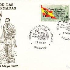 Sellos: SOBRE: 1982 ZARAGOZA. SEMANA DE LAS FUERZAS ARMADAS. Lote 293947093