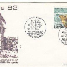 Sellos: SOBRE: 1982 PUERTO DE LA CRUZ. EXFILNA 82. Lote 294038858