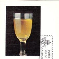 Sellos: TARJETA POSTAL: 1981 MADRID. ESPAÑA EXPORTA VINOS. Lote 295714078