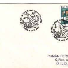 Sellos: SOBRE: 1981 PUERTO DE SANTA MARIA. EXPORTA VINOS. Lote 295715428