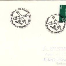 Sellos: SOBRE: 1982 SANTA CRUZ DE TENERIFE. 1º CENTENARIO DEL REGIMIENTO MIXTO ARTILLERIA Nº 93. Lote 295715948