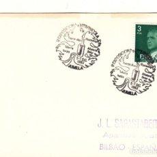 Sellos: TARJETA: 1982 JUMILLA. II EXPOSICION VITIVINICOLA. Lote 295716343
