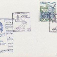 Sellos: AÑO 1989, FIRA DE REIS (FERIA DE REYES) EN MANLLEU. Lote 296868768