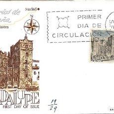 Sellos: MONASTERIO DE GUADALUPE CACERES SERIE TURISTICA 1966 (EDIFIL 1732) EN SPD CIRCULADO DE ALFIL. RARO.. Lote 297101853