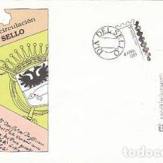Sellos: EDIFIL 2999, DIA DEL SELLO 1989, PRIMER CONVENIO INTERNACIONAL, PRIMER DIA DE 4-4-1989 SFC. Lote 297351228