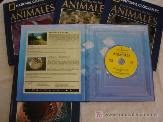 Enciclopedias de segunda mano: national geographic - enciclopedia de los animales. peces con cd's - Foto 16 - 19184020
