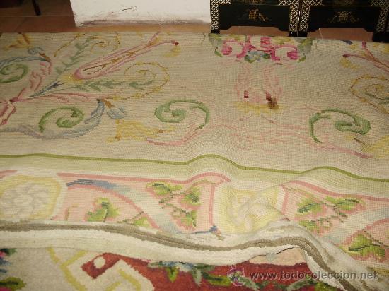 Vendo alfombra antigua de la real fabrica de ta comprar for Vendo alfombra