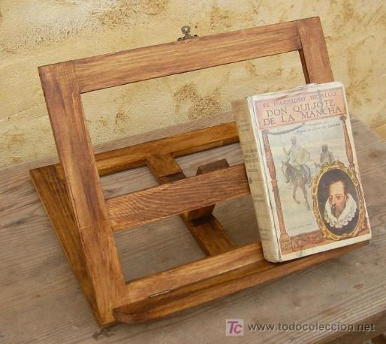 Atril de madera plegable comprar muebles vintage en todocoleccion 49626667 - Muebles atril ...