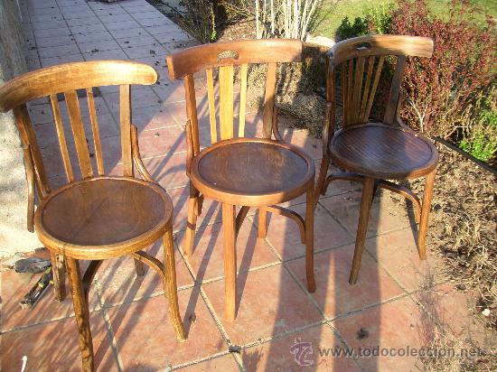 Tres sillas antiguas restauradas tipo tonet comprar - Sillas antiguas restauradas ...