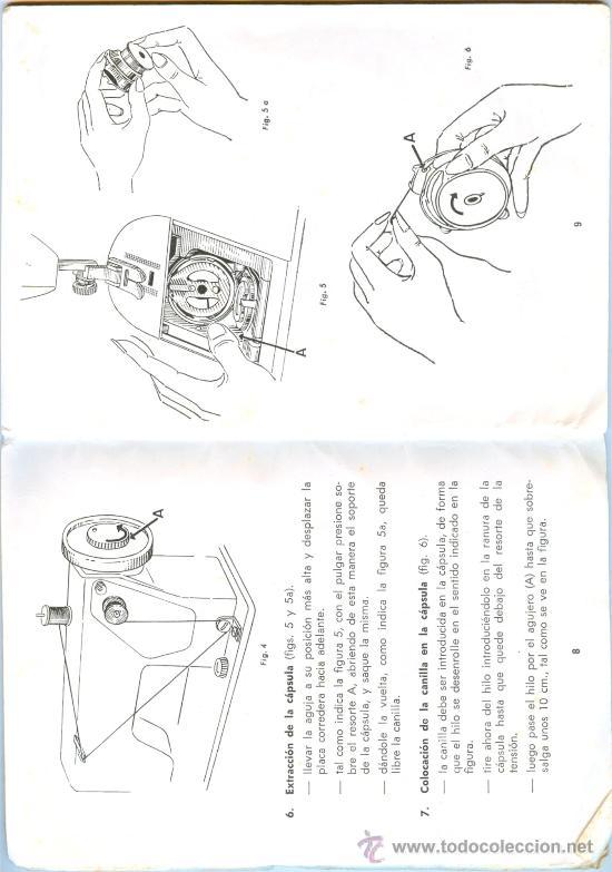 maquina de coser wertheim ez - zig zag automati