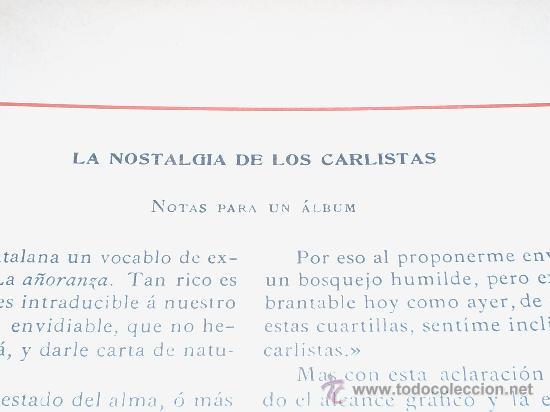 Militaria: EL CUARTO de BANDERAS,Sintesis de Emilio Martinez-Vallejos,General del Ejercito Carlista. - Foto 16 - 19880132