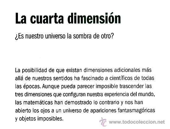 Awesome Que Es La Cuarta Dimension Photos - Casa & Diseño Ideas ...