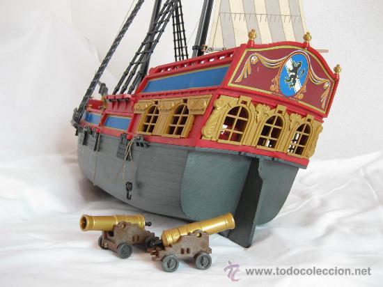 Barco pirata de playmobil rojo y dorado comprar for Barco pirata playmobil