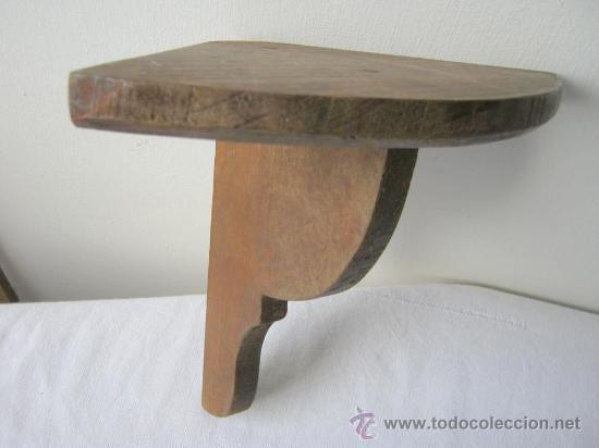 Antigua balda esquinera de madera comprar repisas antiguas en todocoleccion 21977605 - Balda de madera ...